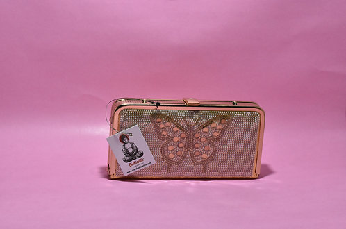Golden Party/ Bridal Clutch (Butterfly Design)
