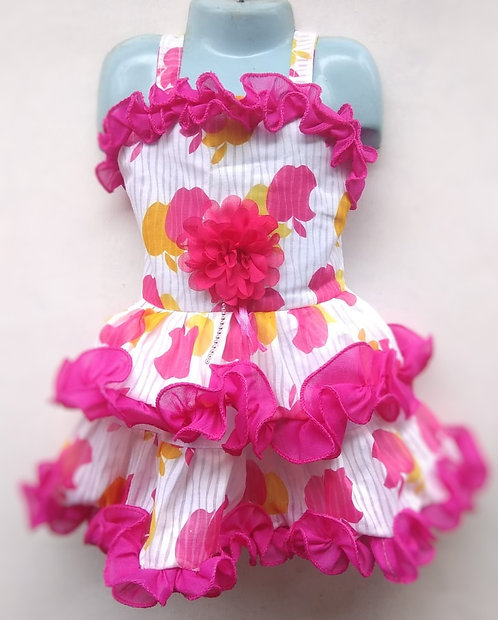Pink Baby Girl Frock (1-3 years)