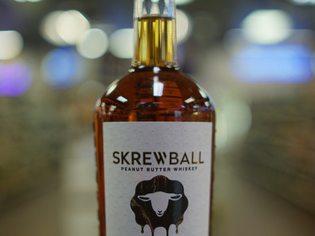 SKREWBALL Peanut Butter Whiskey Available now at KC liquor.