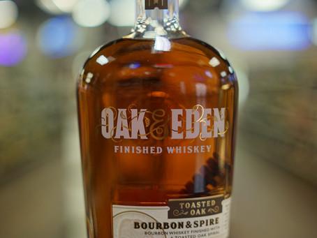 Oak & Eden Bourbon and Spire  Available now at KC liquor.