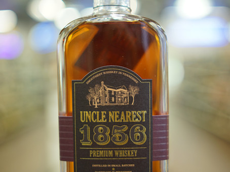 Uncle Nearest Whiskey 1856 Available now at KC liquor.