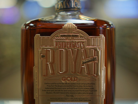 Pendergast's Royal Gold Bourbon Whiskey  Available now at KC liquor.