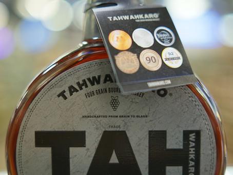 TAHWAHKARO FOUR GRAIN BOURBON Available now at KC liquor.