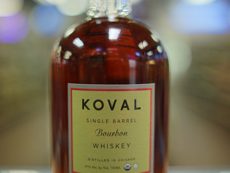 Koval Bourbon Available now at KC liquor.