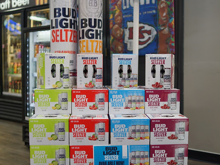 Bud Light Seltzer Available now at KC liquor