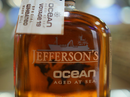 Jefferson's Ocean: Aged at Sea Bourbon Available now at KC liquor.