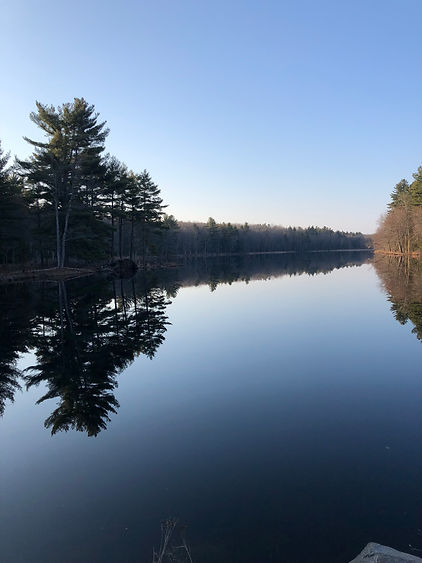 mindfulness lake