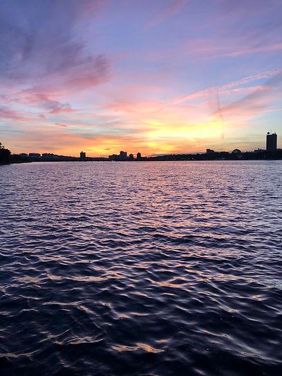 mindfulness sunset