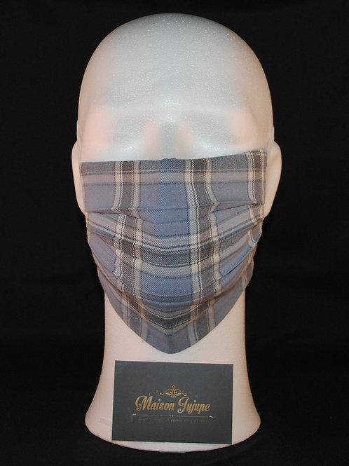 comfortmasker FOD plissée geruit