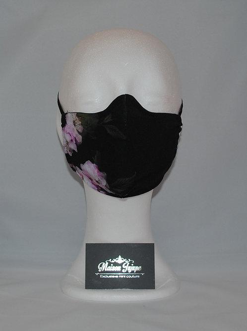 mondkapje blossom black