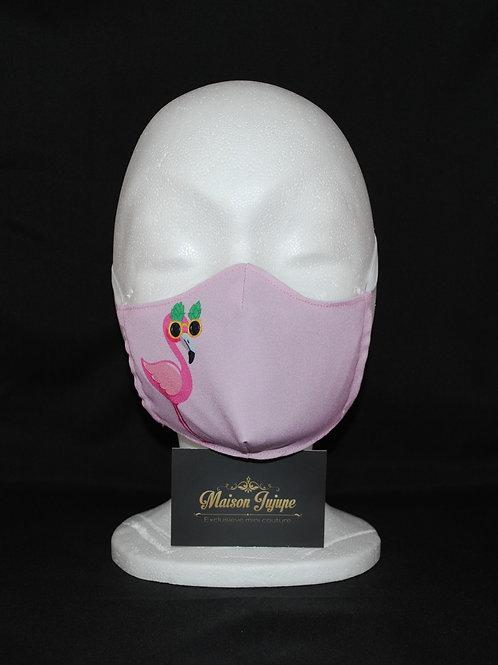 mondkapje flamingo safe
