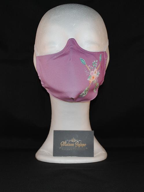 mondkapje lavendel rosebow