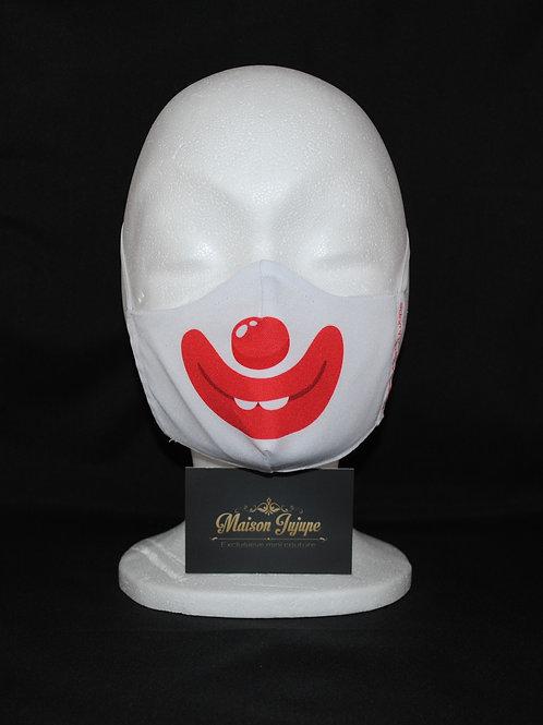 mondkapje clown