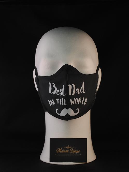 mondmasker voor vaderdag