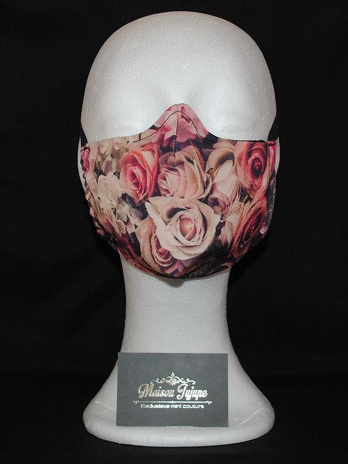 mondkapje rozenboeket