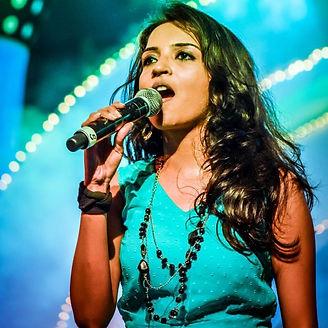 sangeetha rajeev singer performer at bengaluru ganesh utsav