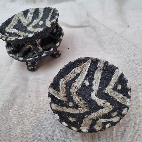 Black mini holders