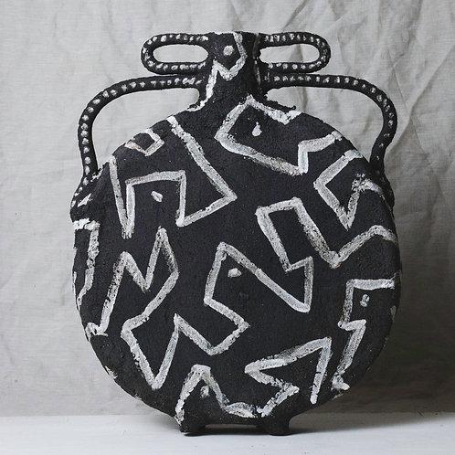 XL Black Vase