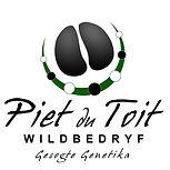 Piet du Toit Wildbedryf logo
