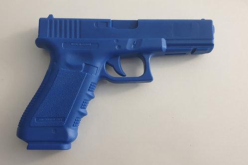 Blue gun Glock 17