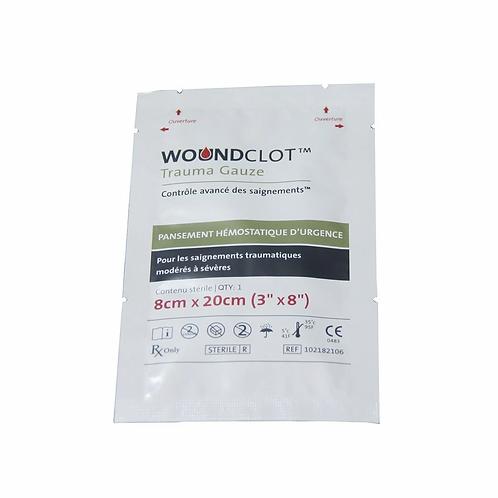 Bande hémostatique Woundclot