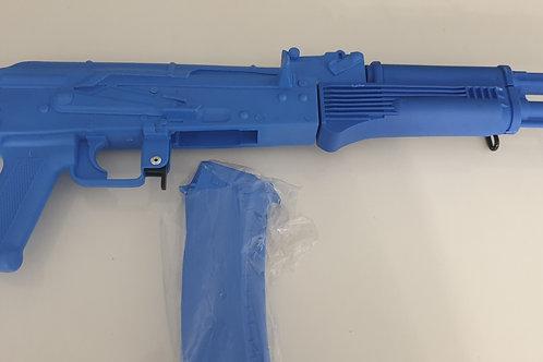 BLUE GUN AK 74