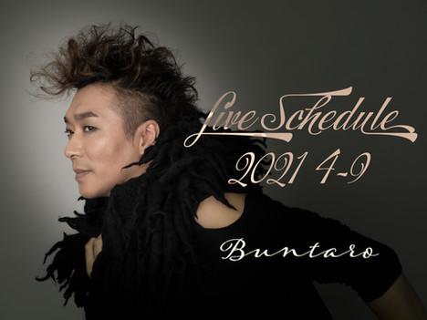 Live Schedule 2021 4~9