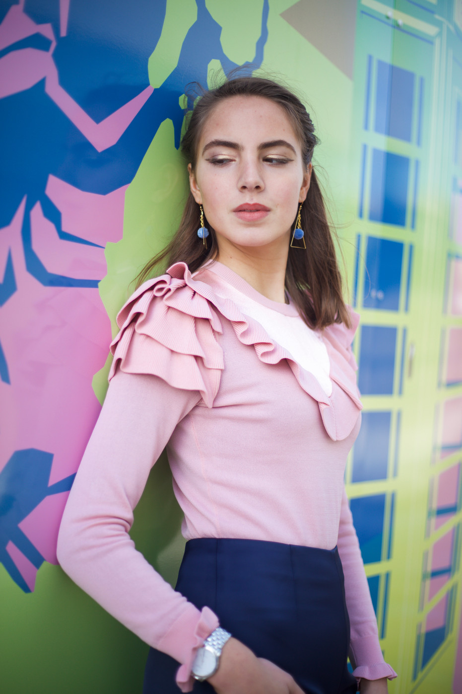 This phototgraphy was created to showcase a new design at Cotton Crowd. In this shoot I aimed to create a refreshing piece of work with a youthful and imaginative aesthetic.   Model: Marina Cappatina