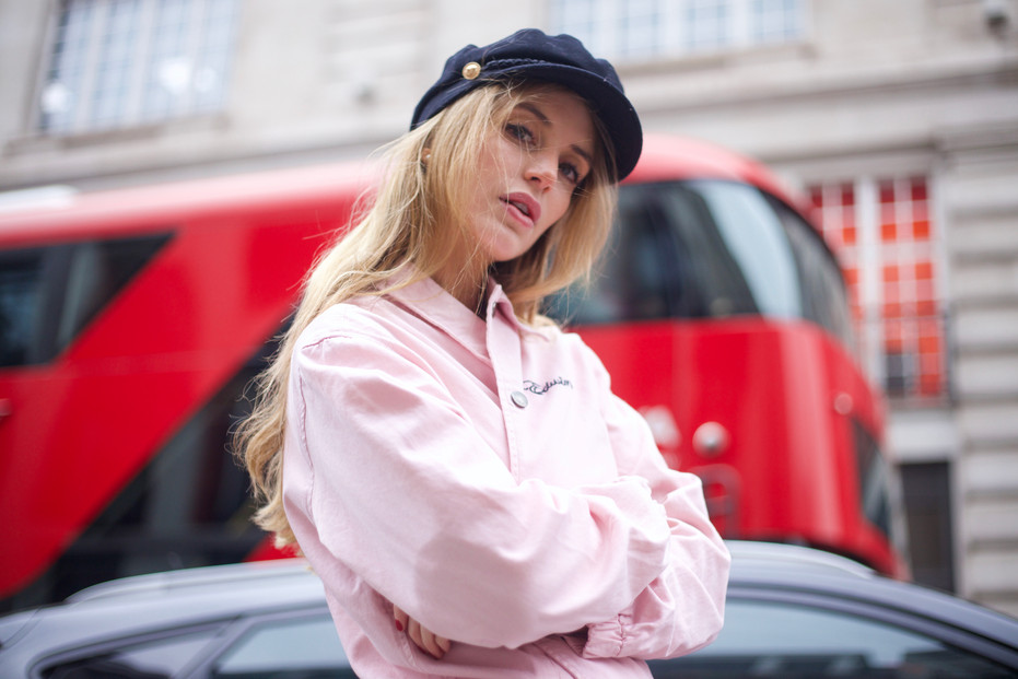 Street style photography for the portfolio of blogger/model Marina T.