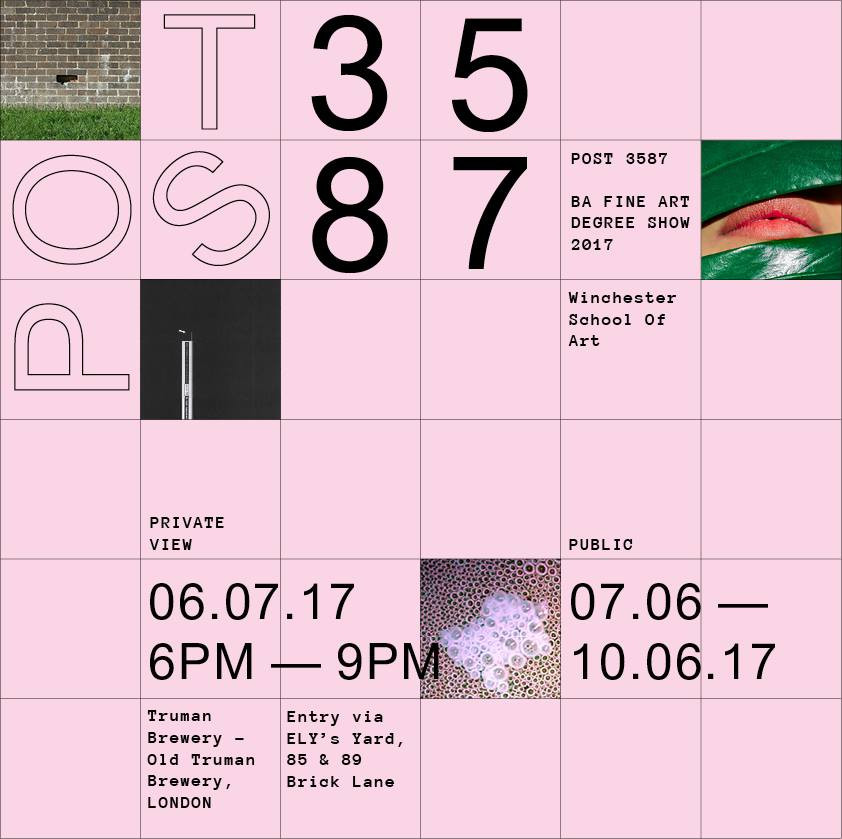 Brochure - 2017 Fine Art Degree Show for