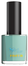 Лак для ногтей Miss Mirra - Гармонично зеленый