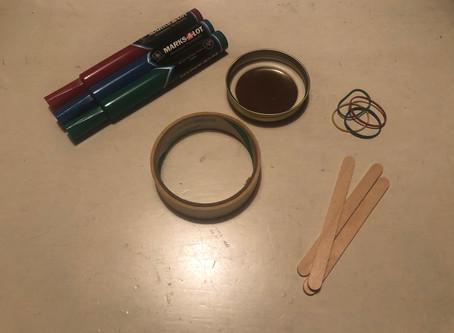 Jar Lid Banjo