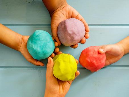 Marshmallow Based Edible Play Dough!