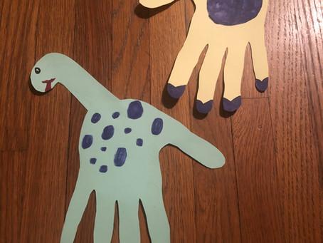 Handprint Animal Craft