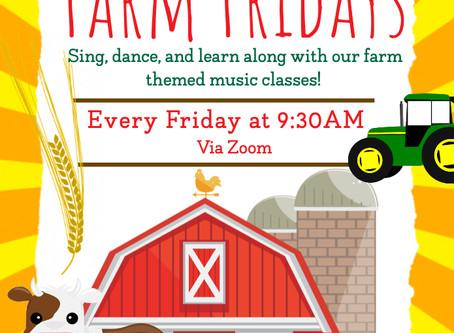 Thankful Farm Sign & Sing!