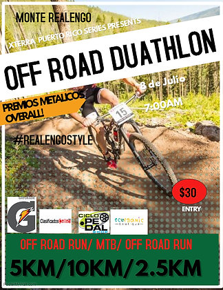 OFF ROAD DUATHLON INDIVIDUAL