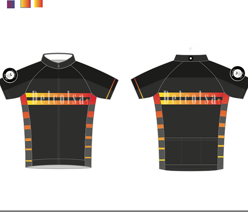 Delcosa Cycling Kit Race Cut