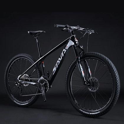 Sava Deck 6.0 black 29er carbon MTB
