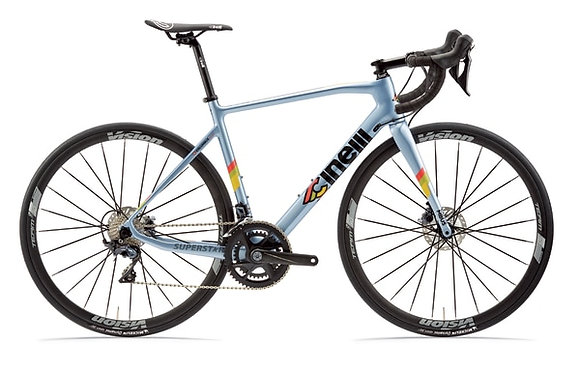 Cinelli Superstar Complete Bike Laser Blue