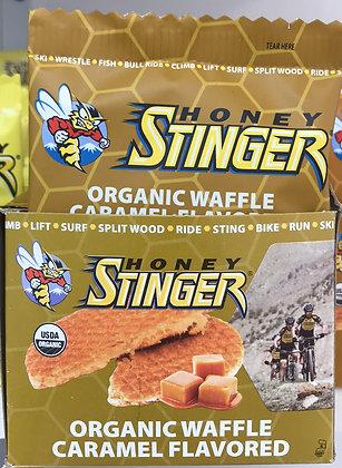 Honey Stinger Organic Caramel flavored