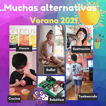 alternativas talleres verano 2021