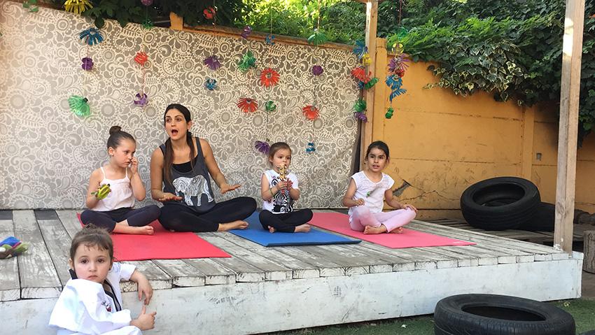 Taller de yoga