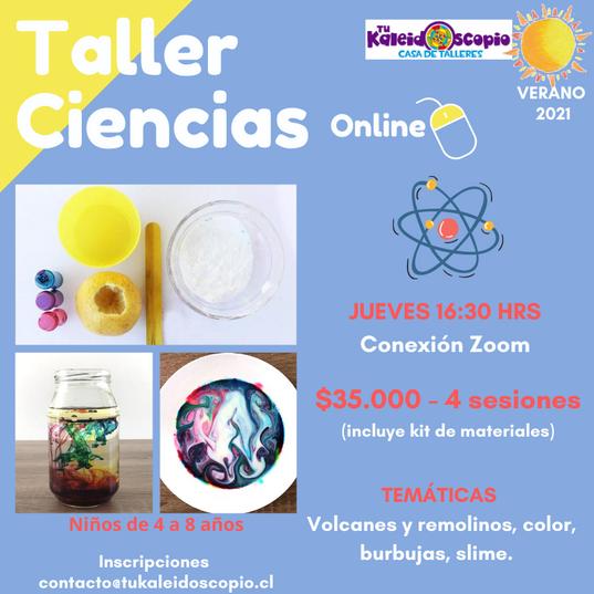taller ciencia