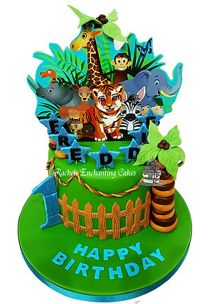 animal cake rachels enchanting cakes chesterfield