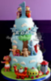 In The Night Garden Cake by Rachels Enchanting Cakes Chesterfield