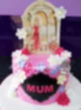 art deco styled birthday cake by rachels enchanting cakes sheffield