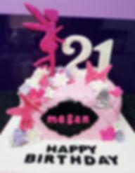Tinkerbelle Themed Birthday Cake, 21, Sheffield