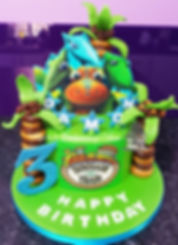 Dinosaur Train Birthday Cake , Sheffield , Rachels Enchanting Cakes