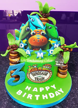 Dinosaur Train Birthday Cake , Sheffield , Rachels Enchanting Cakes