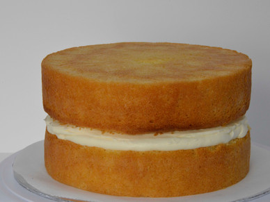 TIPS - Fill that PERFECT `Victoria Sponge` With Loads of Jam and Butter cream and NO MESS !